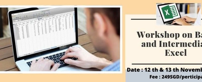 Workshop on Basic and Intermediate Excel